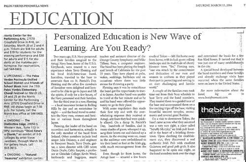 Are you ready for the New Wave? Personalized Learning